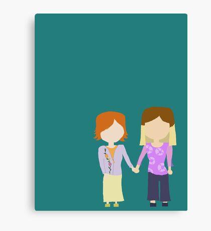 You're My Always - Willow & Tara Stylized Print Canvas Print