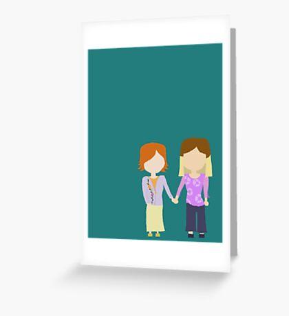 You're My Always - Willow & Tara Stylized Print Greeting Card