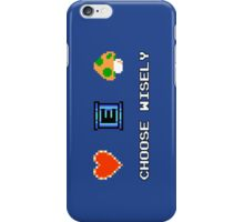 NES - Choose Wisely iPhone Case/Skin