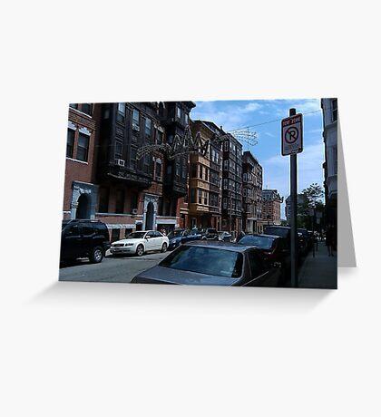A Boston Neighborhood Greeting Card