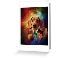THE 6TH DOGTOR Greeting Card