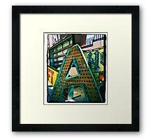 The Letter A Framed Print