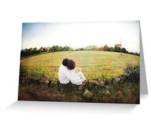 present moment Greeting Card