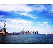 NYC Skyline by omhafez