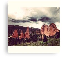 Garden of the Gods, Denver Canvas Print