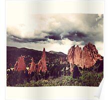 Garden of the Gods, Denver Poster