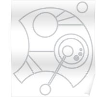 Custom Name in Circular Gallifreyan from Doctor Who (Please message me your name before ordering!)  Poster