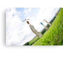 Open to life Canvas Print