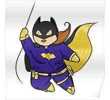 Chubby Batgirl Poster