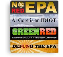 Defund The EPA Canvas Print
