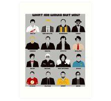 TV series Art Print