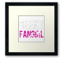 Geeky Fangirl Framed Print