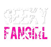 Geeky Fangirl Photographic Print