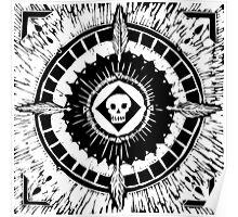 Tenochzitza's Mandala Poster