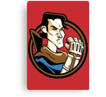 Time Travelers, Series 1 - Ash Williams (Alternate) Canvas Print