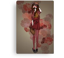 Jolie Rouge Canvas Print