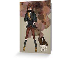Country Chic Greeting Card