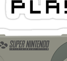 Back In My Day - SNES Controller (Reversed) Sticker