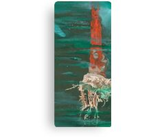 The Red Tower Canvas Print