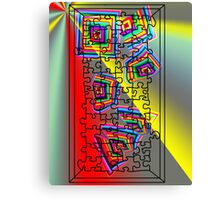 A Puzzle the path of life Canvas Print