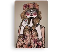 Hippie Chic Canvas Print