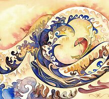 Hokusai` Wave by David Evans by Forestedge