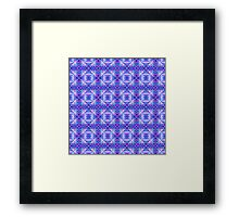Patchwork Water Dragon Scales  Framed Print