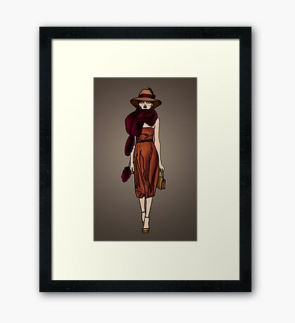 Just Love Gucci  Framed Print