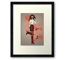 Lizz Framed Print