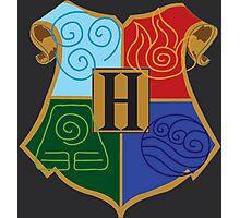 Avatar Element Hogwarts Shield Photographic Print