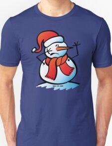 Worried Snowman T-Shirt