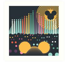 World of Color Art Print