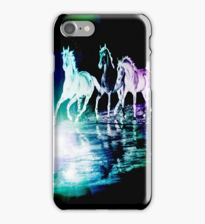 HAPPY HORSES!!!!!!!! iPhone Case/Skin