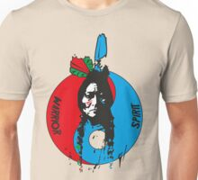 The warrior and the spirit Unisex T-Shirt