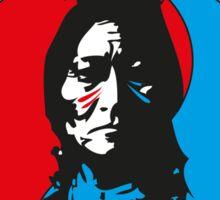 The warrior and the spirit Sticker