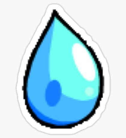 Cascade Badge (Pokemon Gym Badge) Sticker