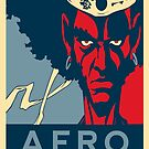 Hope and afro by Stevie B
