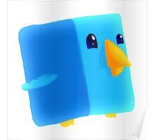 Cube Tweet Poster