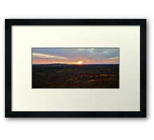 Mount Levis Framed Print