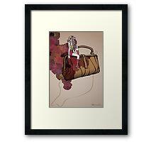 Souci Framed Print