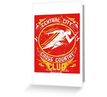 Cross Country Club Greeting Card