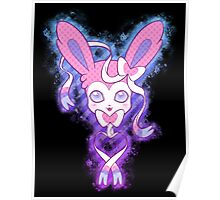 Sylveon Graphic Poster