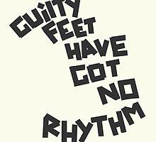 GUILTY FEET HAVE GOT NO RHYTHM (Arctic Monkeys) by JamieSandhu