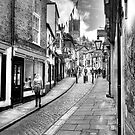 Steep Hill - Lincoln by Paul Thompson Photography