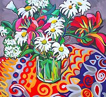 Daisy Still Life by marlene veronique holdsworth