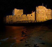 Carrickfergus Castle by Chris Cardwell