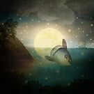 The Fish That Stole The Moon by Paula Belle Flores
