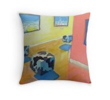 The Coobenheim trip.  Throw Pillow