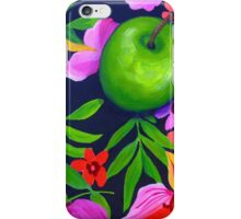 Flowers and fruit iPhone Case/Skin