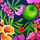 Flowers and fruit by marlene veronique holdsworth